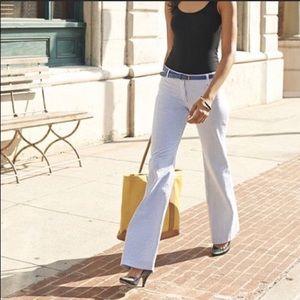 Seersucker city fit trousers